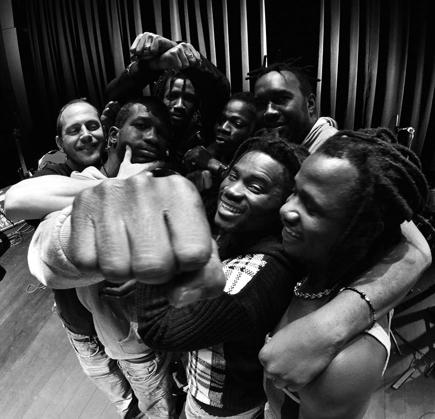 Les Espoirs étaient 7 aux Ondines, mais le groupe compte au total 14 musiciens. - François Boiton