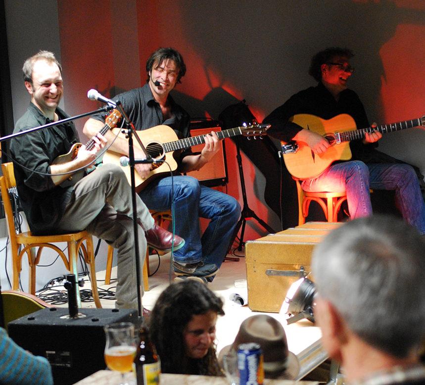 La Croqueuse, le 13 décembre au Café du Garage.