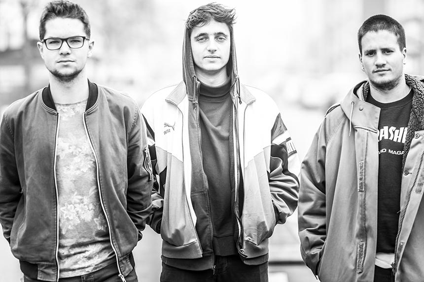 Paul, Florian (Fitzgeraldos) et Clément (Ed Gartzen) de Ça dégomme - Florian Renault