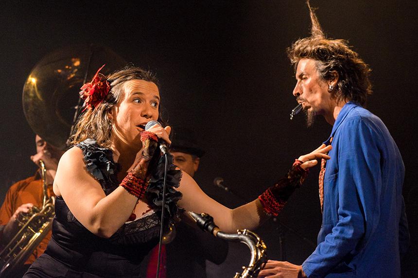 Lise Moulin et Vincent Ruche