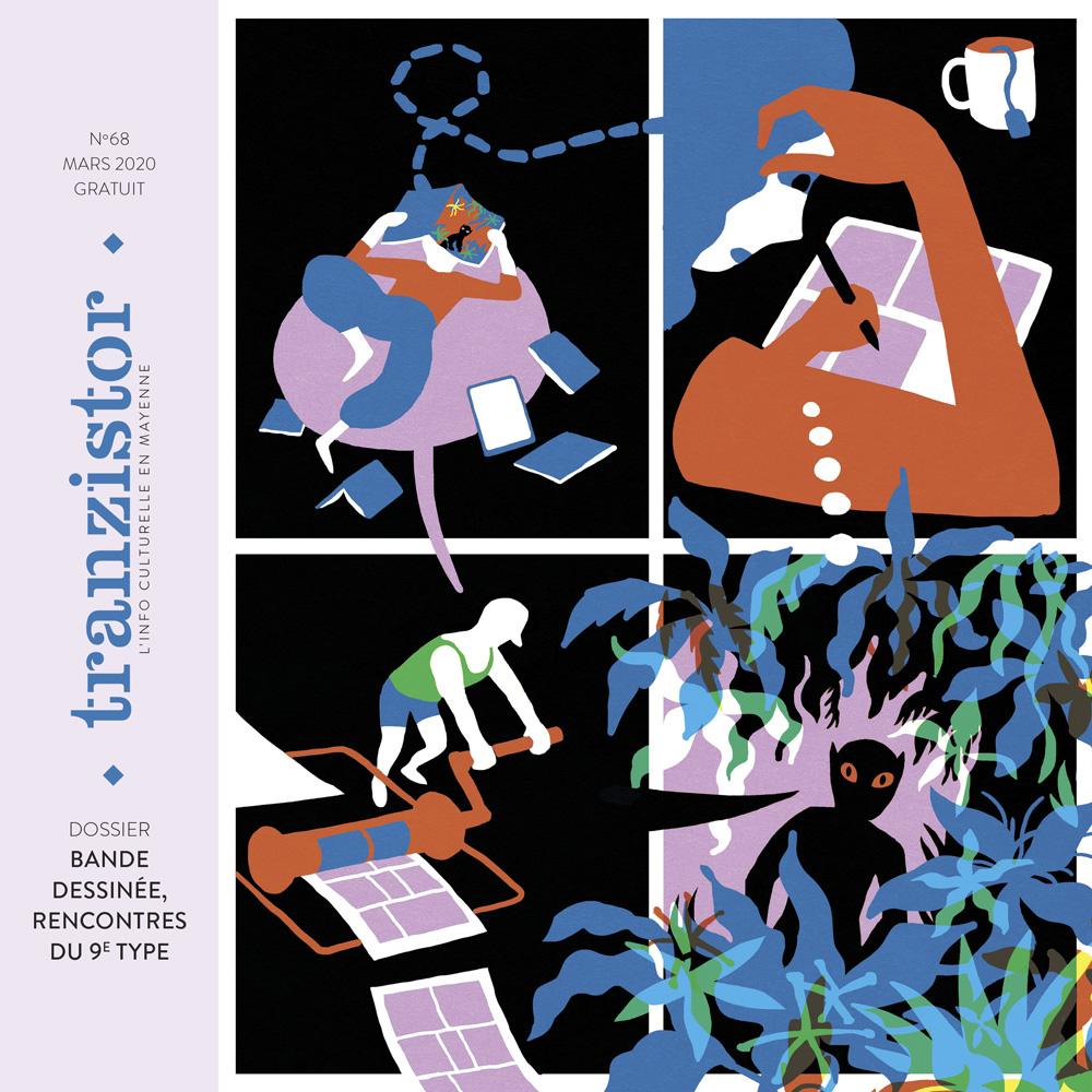 Couverture du numéro 68 du magazine Tranzistor